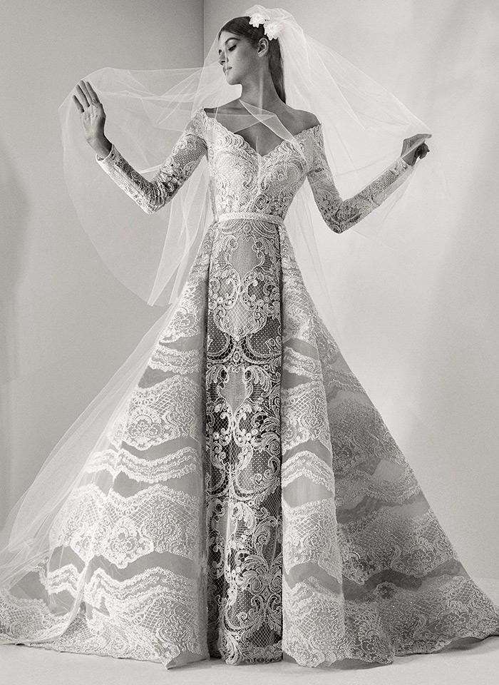 Самые красивые свадебные платья 2017 Elie Saab