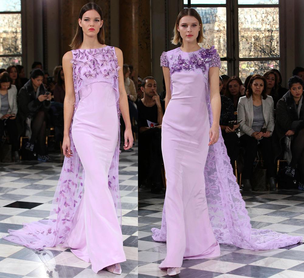 Лавандовые платья