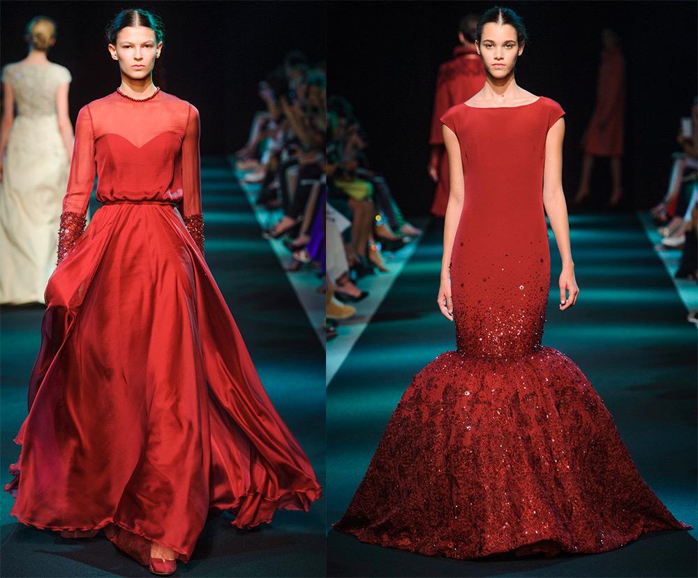 красные платья Джорджа Хобейка