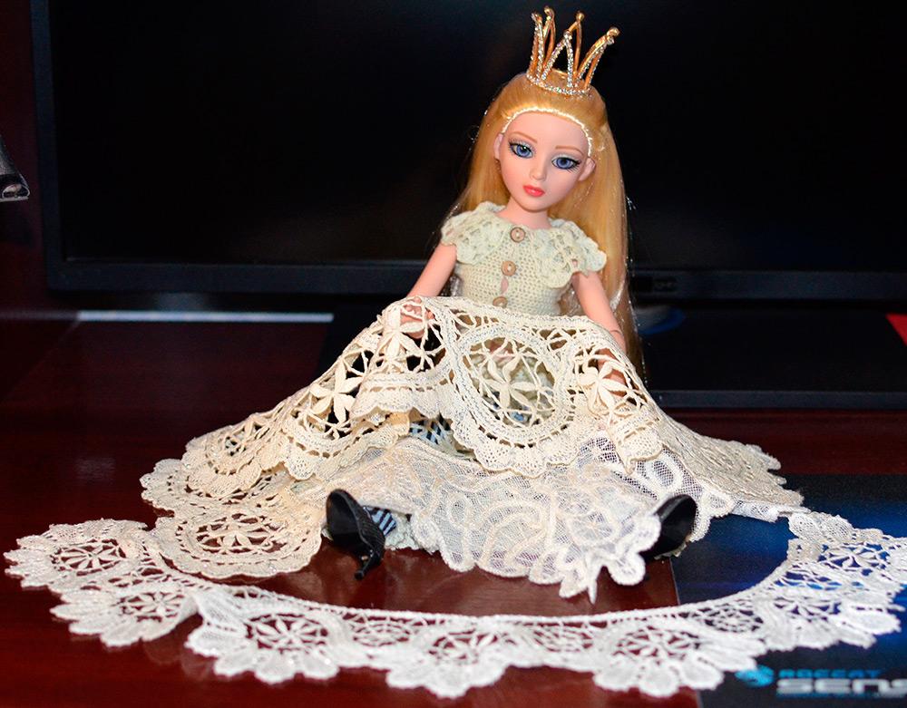 Фотосессия куклы Маши