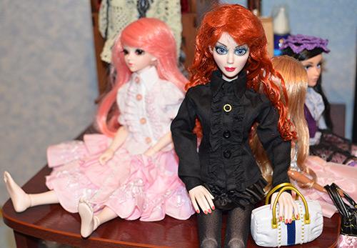 Идеи фотосессии для девушек – фото в кукольном стиле