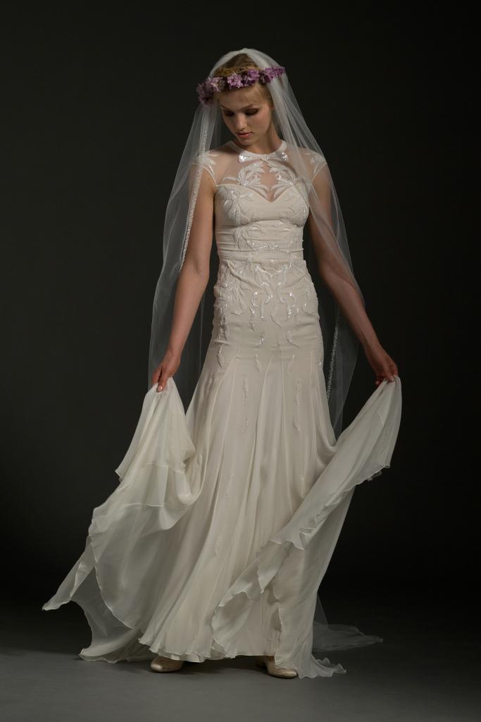 Скромное свадебное платье Temperley London