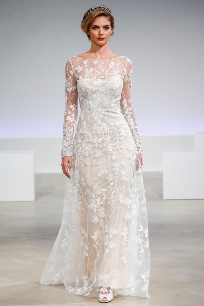 Скромные, но красивые свадебные платья 2017-2018