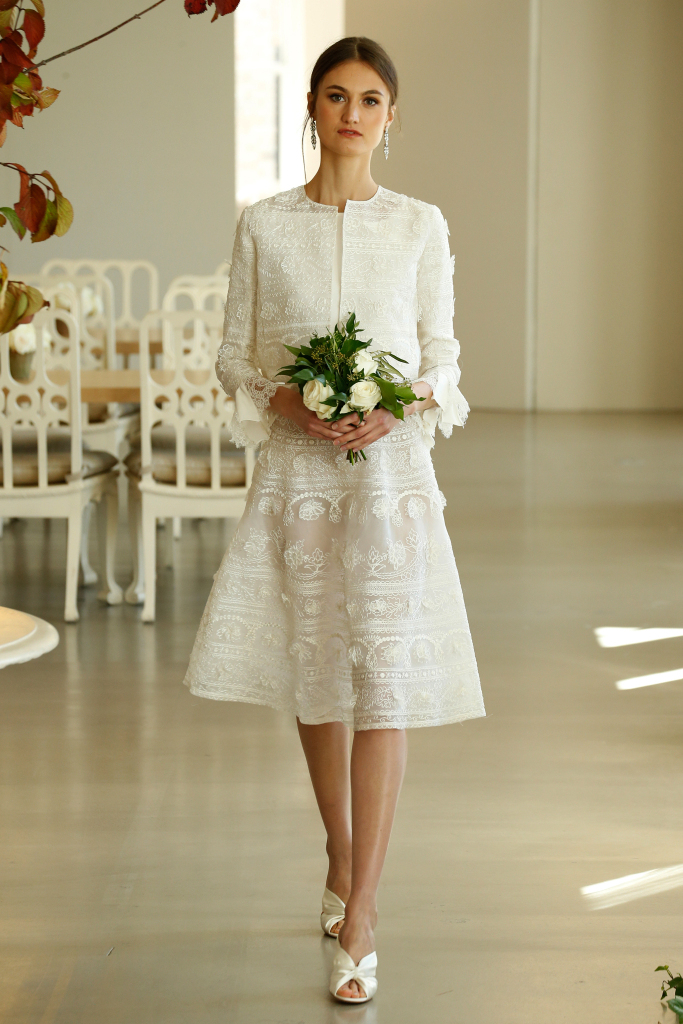 Oscar de la Renta свадебное платье