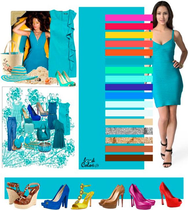44 цветовых сочетаний в одежде для женщин