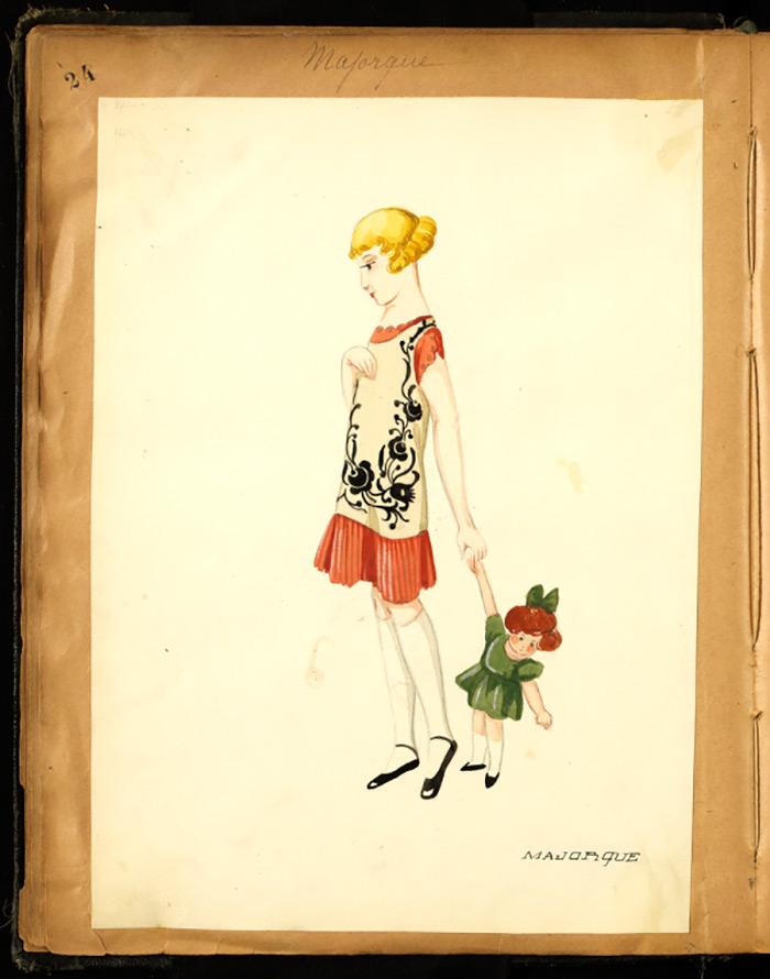 Детское платье Ланвен
