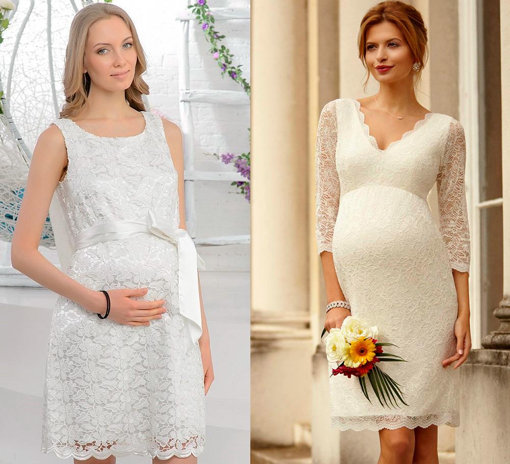 Свадебные платья для беременных – фото лучших моделей f5684d87e8a