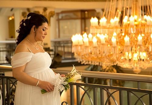 Свадебные платья для беременных – фото лучших моделей