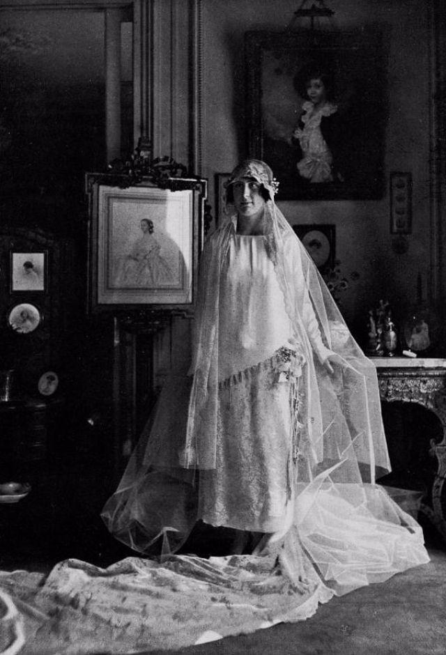 Свадебное платье – винтажное фото