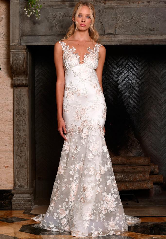 Свадебные платья Claire Pettibone 2017-2018