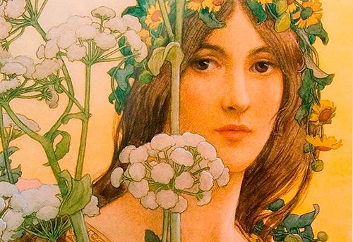 Стиль модерн и прекрасные женщины Альфонса Мухи