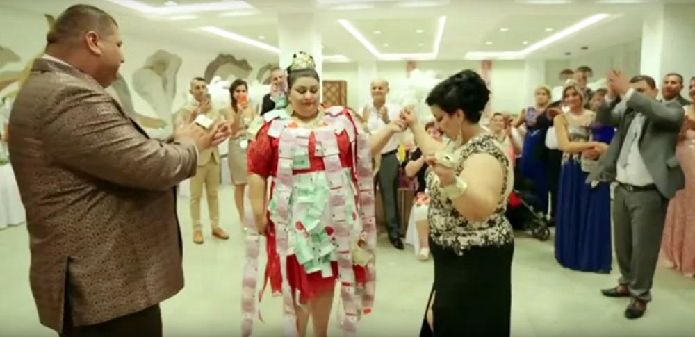 Цыганская свадьба красивая