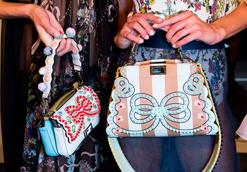 45 сумок от Fendi из коллекции весна-лето 2017