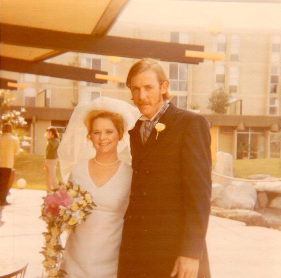 Свадебные фото 1970 годов