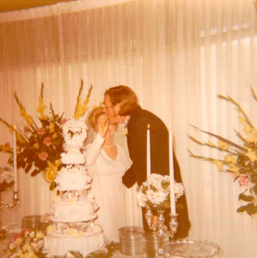 свадебные фото на Polaroid