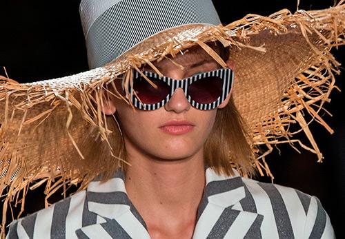 Солнцезащитные очки в полоску 2017