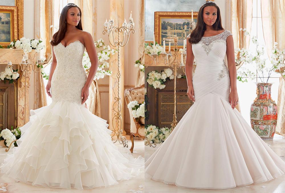 6582bb5eeb9 Свадебные платья для полных девушек