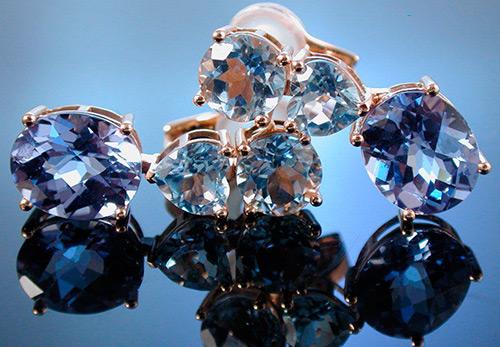 Голубой топаз - магические и лечебные свойства камня