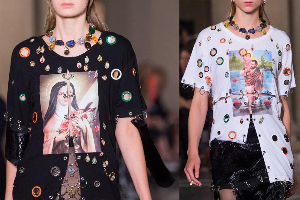 Пирсинг одежды – модная тенденция 2017
