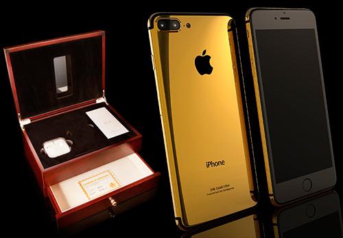 Золотой iPhone 7 Plus в подарок на Новый 2017 год