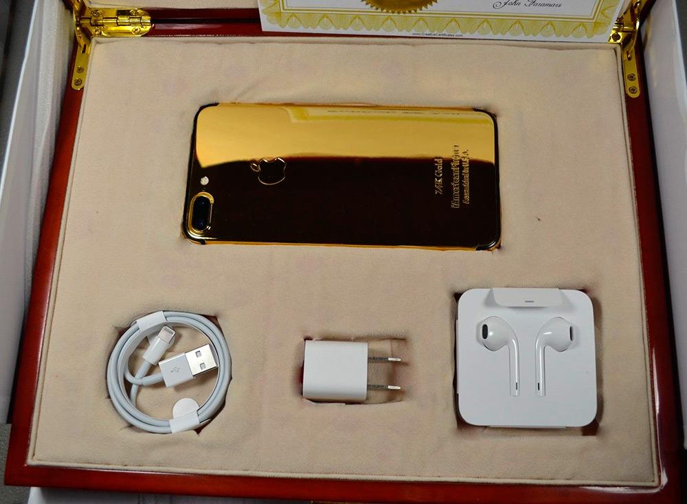 Золотой iPhone 7 Plus