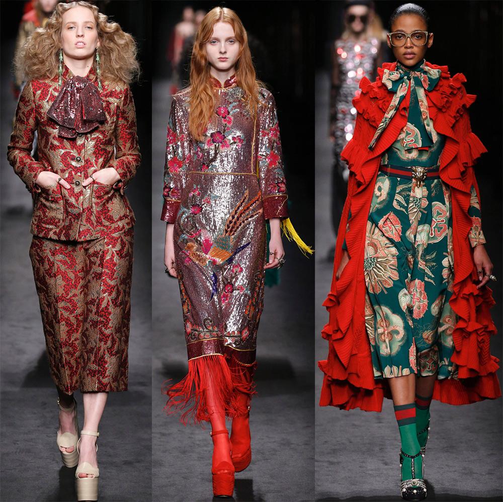 Яркие образы Gucci