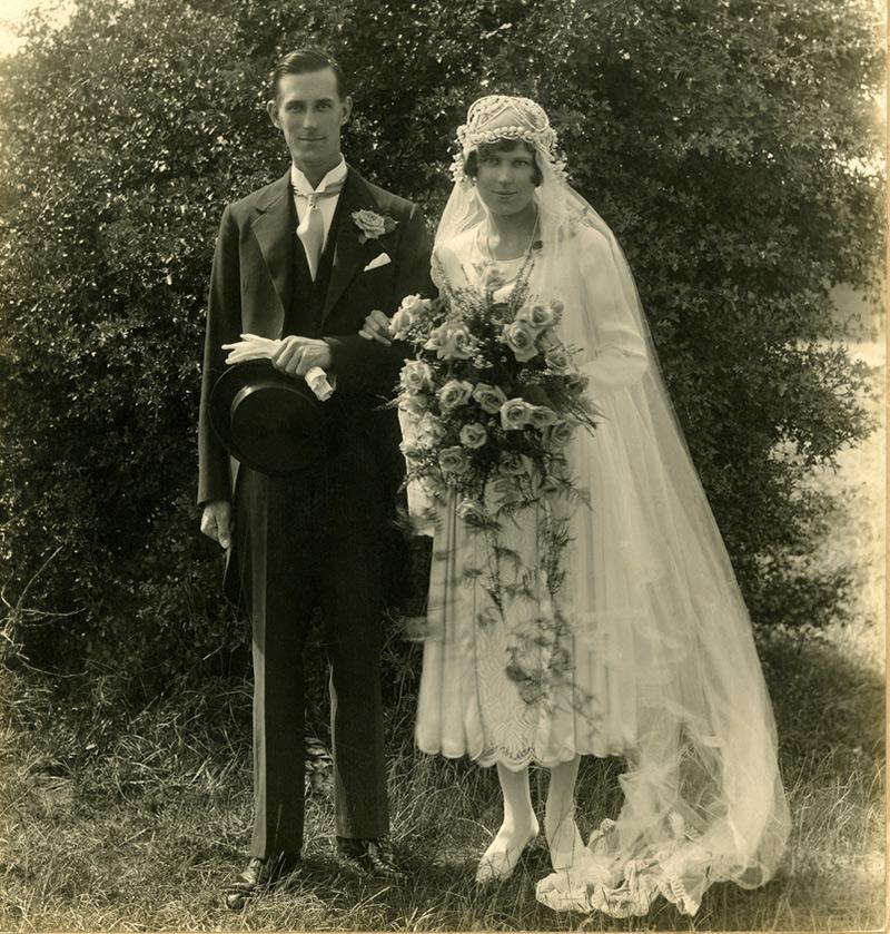 Свадебные фотографии 1920 годов в высоком качестве