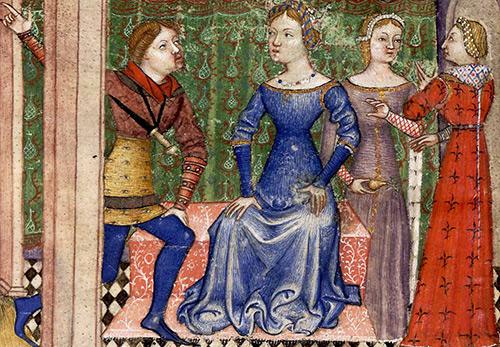 Мода и костюм эпохи Средневековья – романский стиль