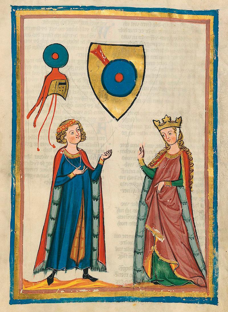 Мужская и женская одежда Средневековья