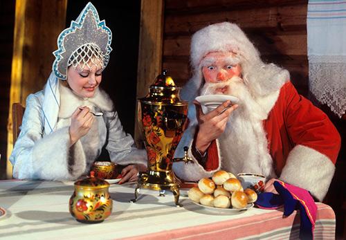 Дед Мороз из СССР – винтажные новогодние фото