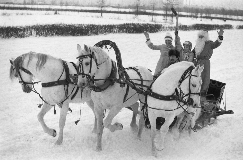 Дед Мороз из СССР фото