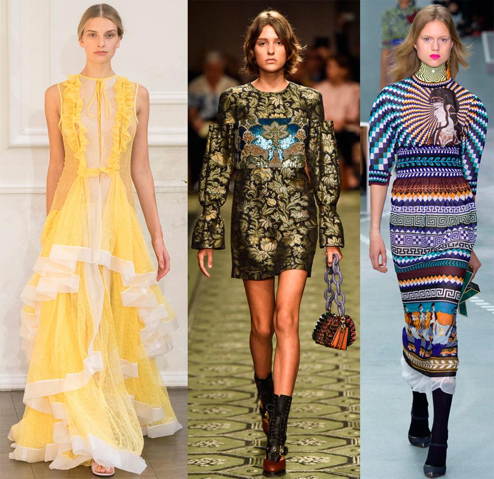 d4222ca215a Модные платья весна-лето 2017 – фото и тенденции