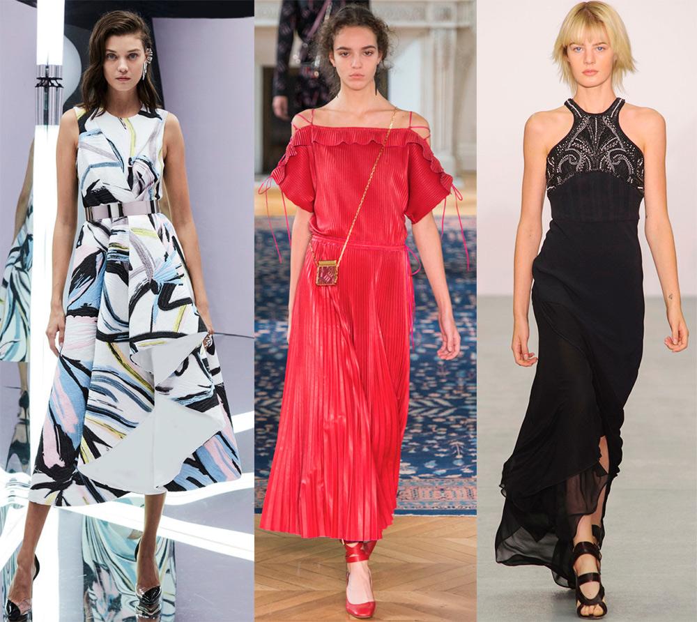 Самые модные фасоны платья этого лета