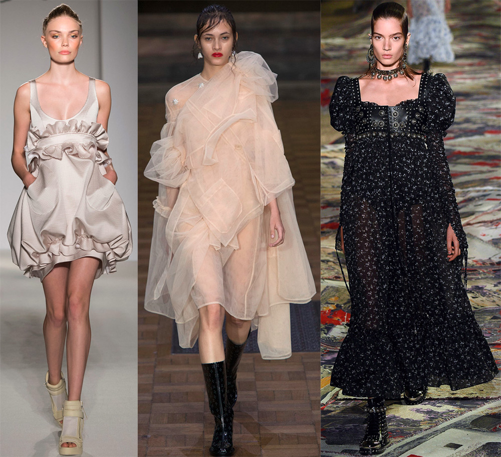 Модные платья модели и фото