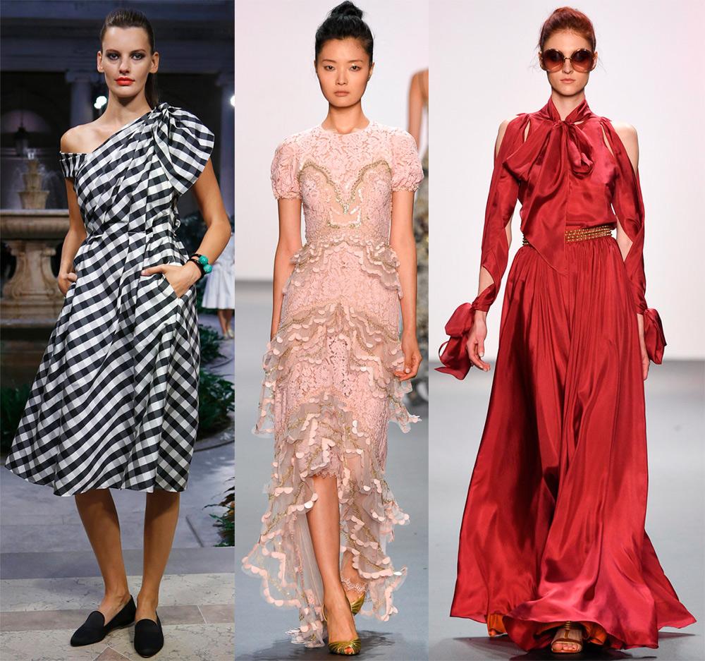 Красивые платья 2017