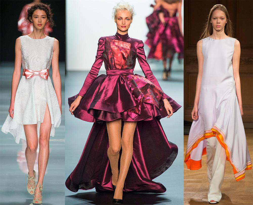 Платье-маллет 2017 – лучшие модели