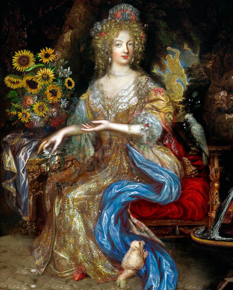 Женская мода эпохи барокко