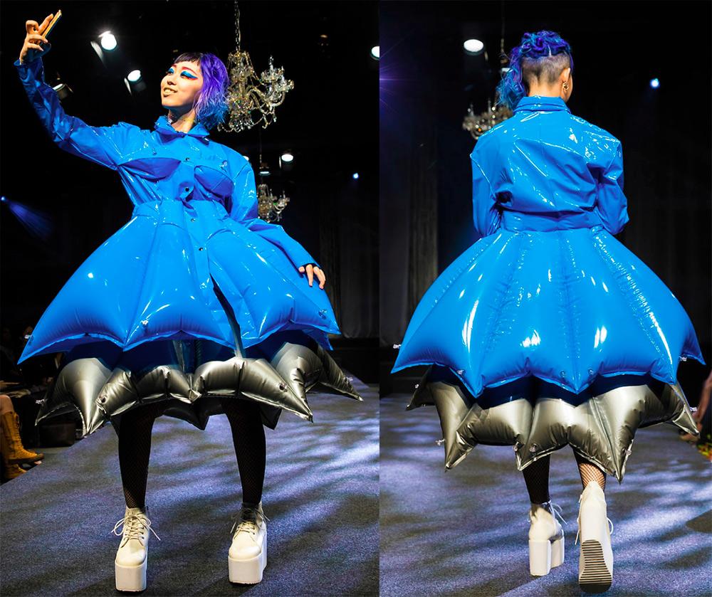 Надувная куртка Michiko Koshino