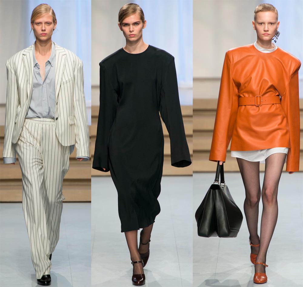 Модная одежда с очень длинными рукавами