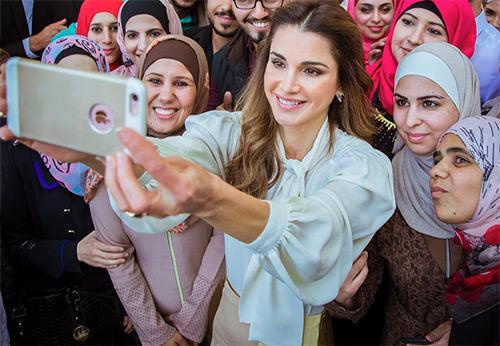 Стиль королевы Иордании Рании Аль-Абдулла