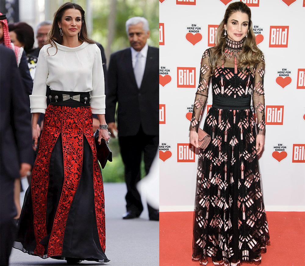 Стиль одежды Рании Аль-Абдуллы