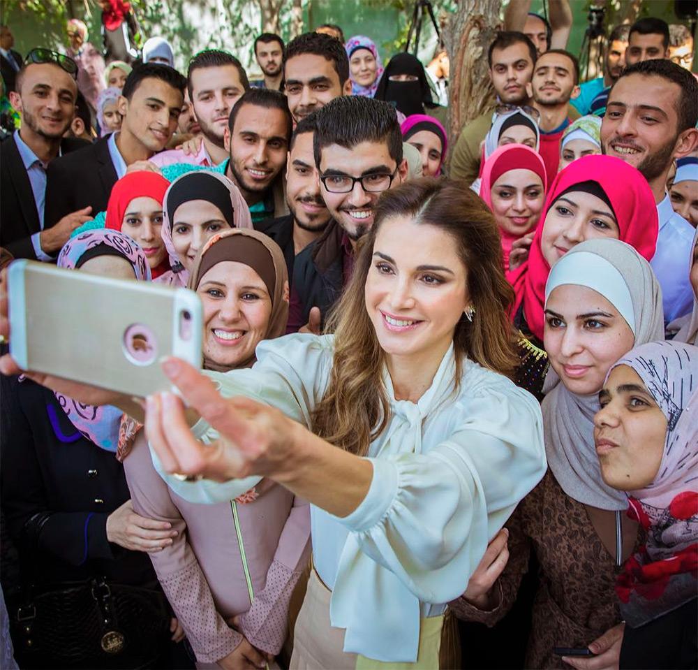 Королева Иордании Рания Аль-Абдулла