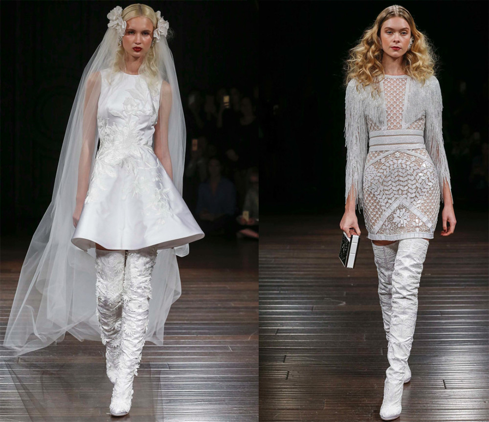 Необычные свадебные платья и оригинальные образы невесты
