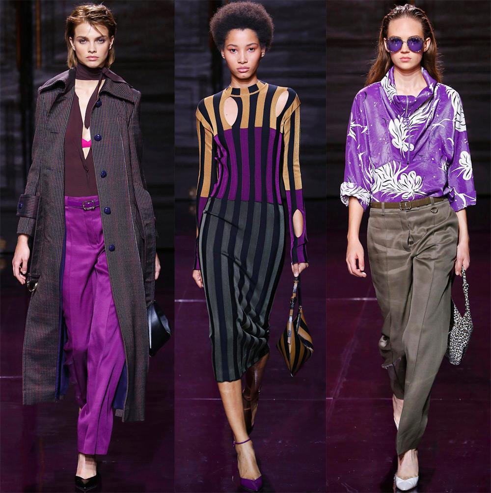 Модные оттенки фиолетового
