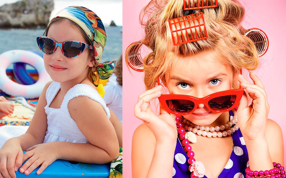 Солнцезащитные очки для девочек