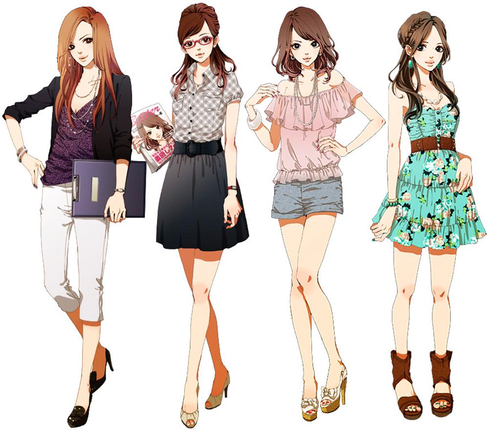 Красивые девушки аниме