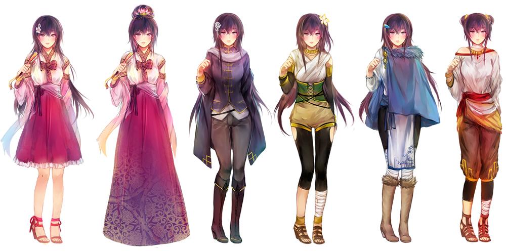 Что будет если соединить аниме и модную иллюстрацию