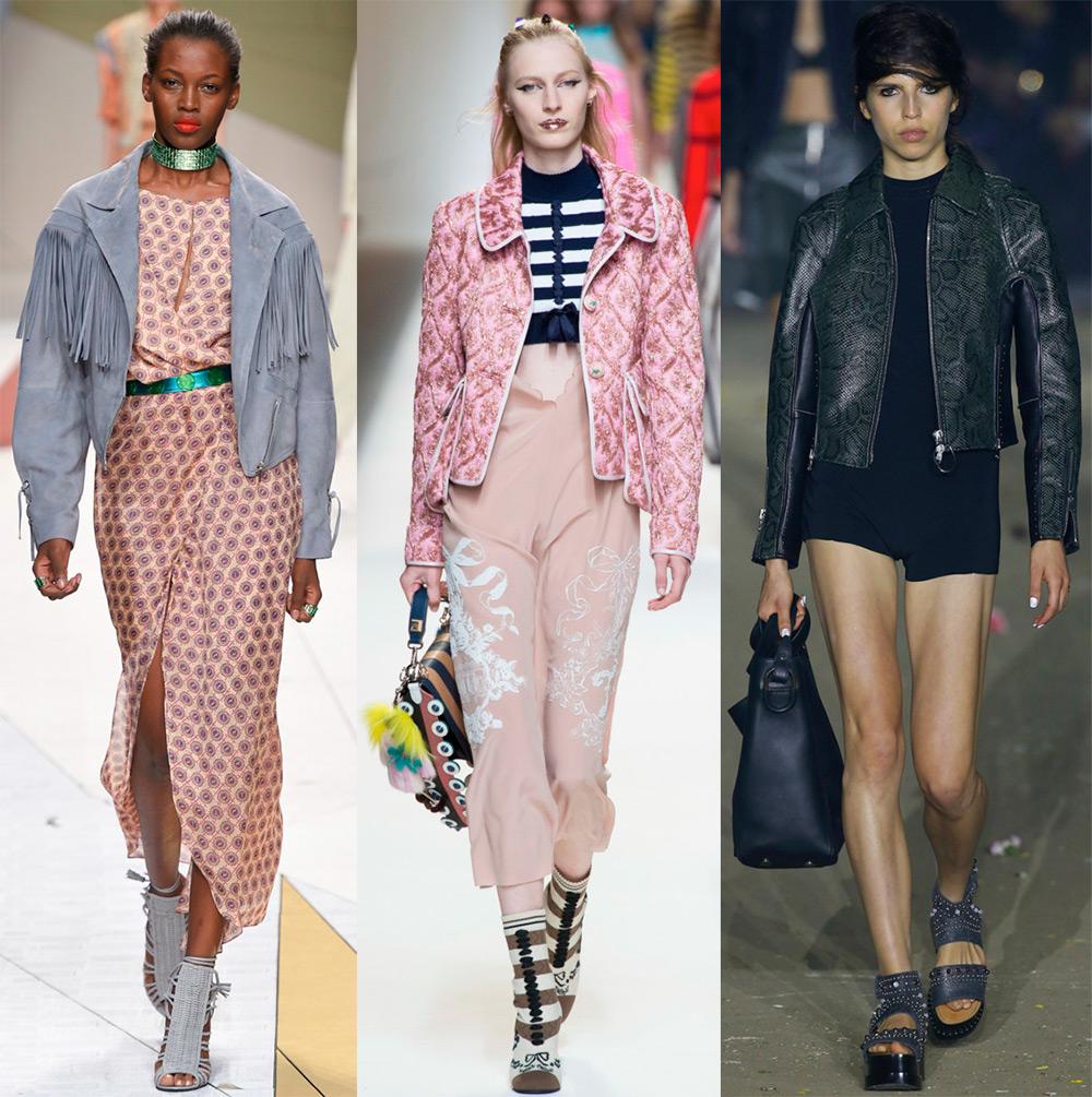 Модные женские куртки весна-лето 2017