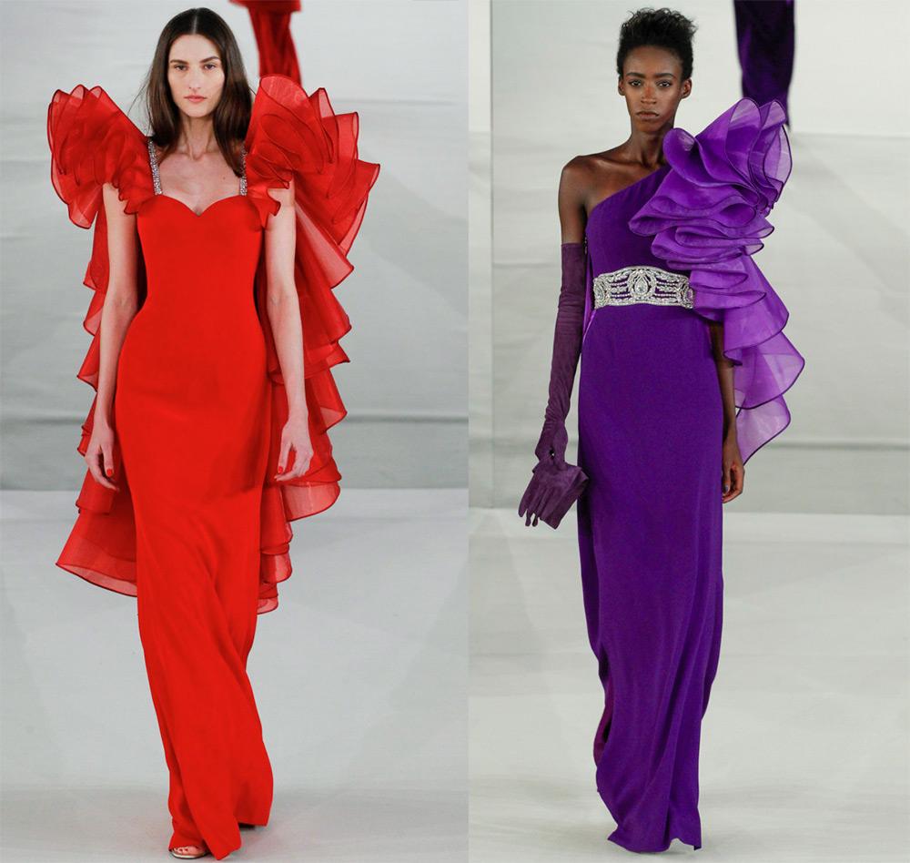 Длинные вечерние платья Alexis Mabille