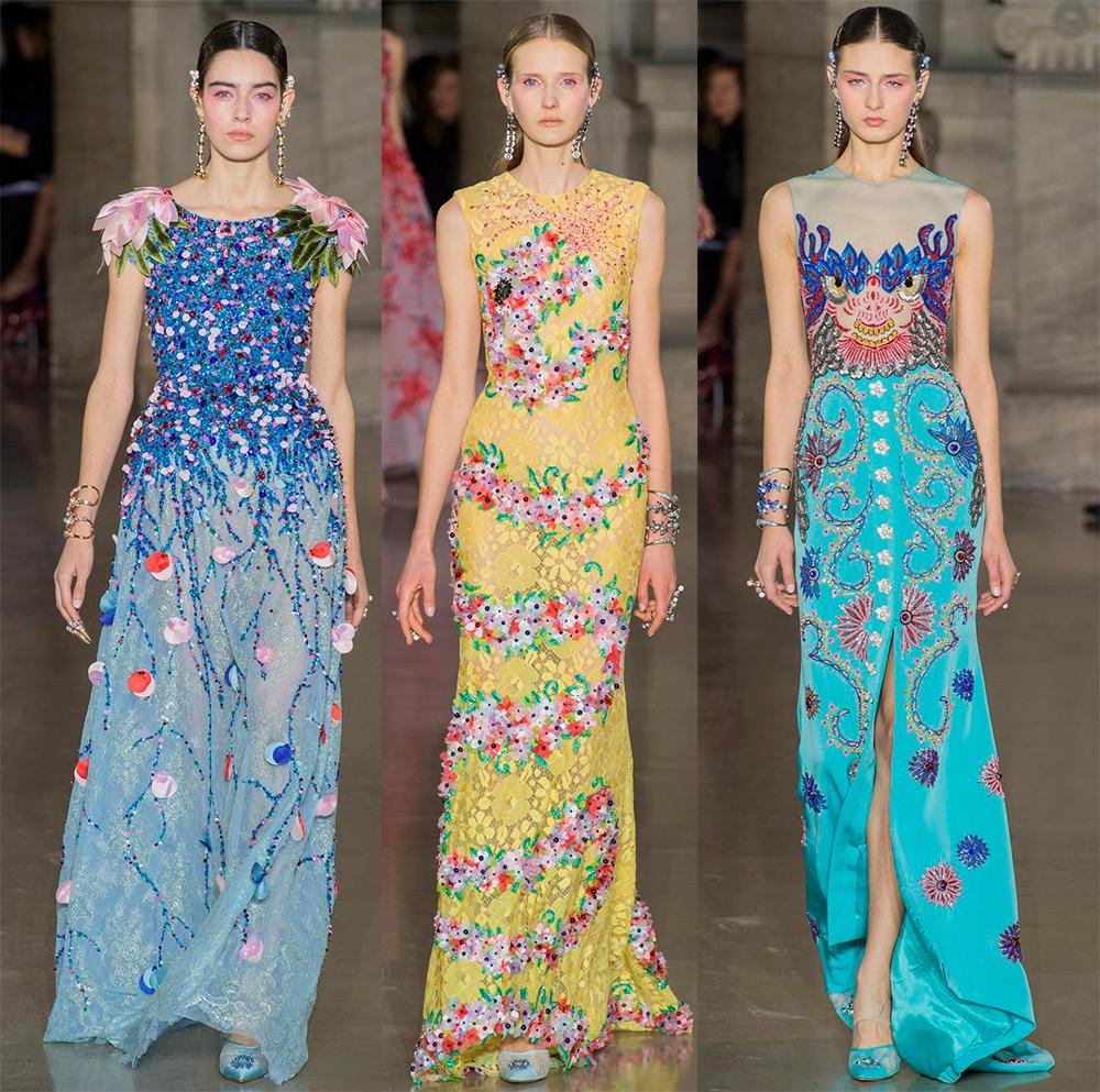 Роскошные вечерние платья Georges Hobeika